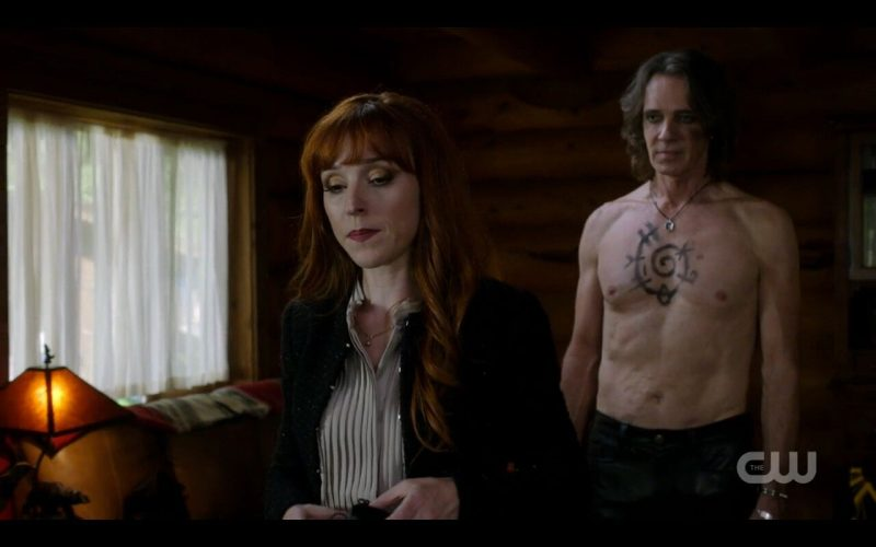 supernatural foundry lucifer shirtless with rowena spell