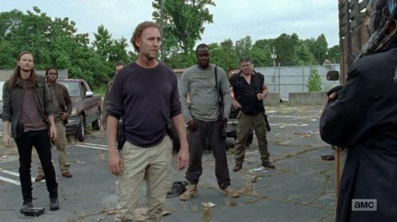 the walking dead 702 well negans gang