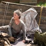 the walking dead carol in cart