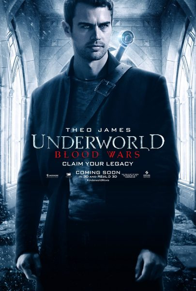 theo james sexy underworld blood wars poster