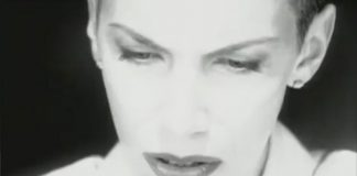 throwback video mtv bans annie lennox angel video for occult reasons 2016 images