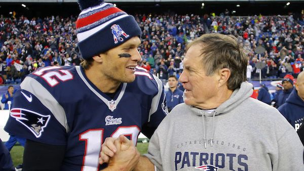 tom brady bringing relief to bill belichick 2016 nfl images