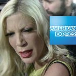 tori spelling pregnant with am express bills