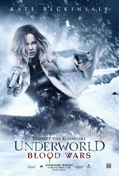 underworld blood wars latest poster kate beckinsale firing off
