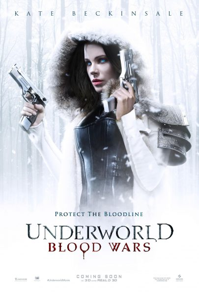 underworld blood wars snow poster