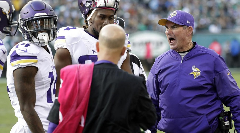 vikings coach mike zimmer refutes stuffed animal abuse allegations 2016 images