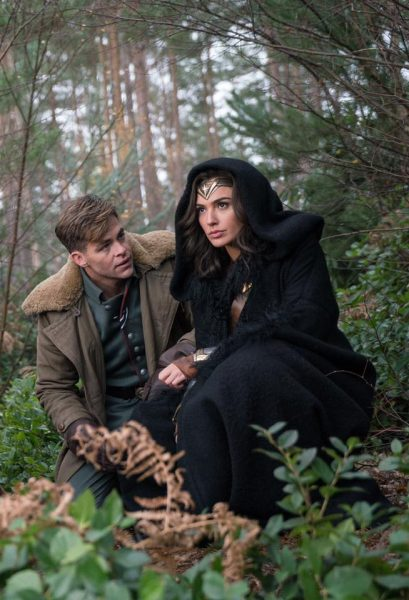 wonder woman chris pine gal gadot1
