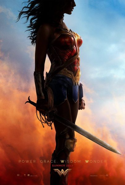 wonder woman comic con poster