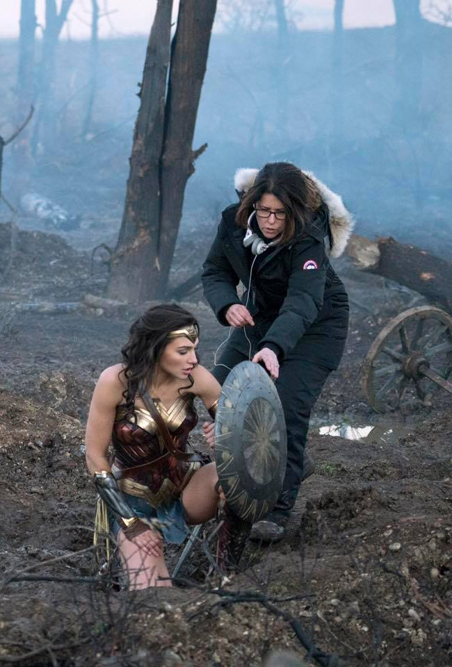 wonder woman gal gadot patty jenkins