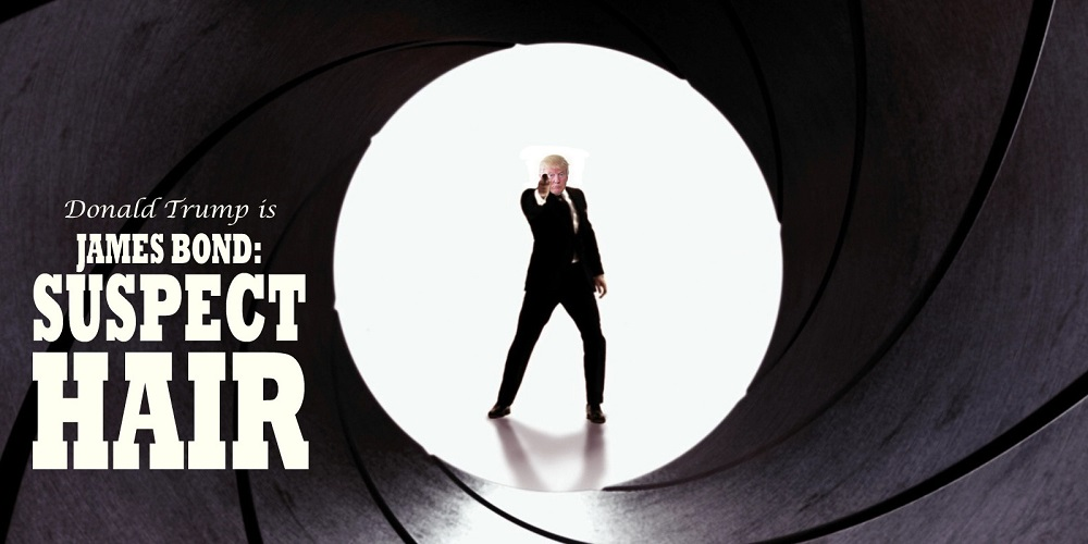 Donald Trump has fat chance to be the next James Bond 2016 images