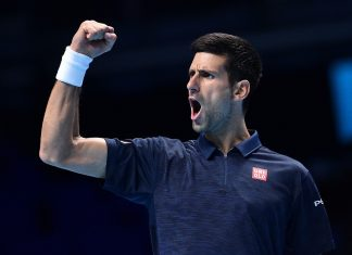 Novak Djokovic Clinches Semifinal Spot at ATP World Tour Finals 2016 images