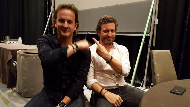 Richard Speight Jr. and Rob Benedict talk 'Kings of Con' & 'Supernatural' interview 2016 images