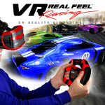 VR Real Feel Virtual Reality Car Racing Gaming System cyber monday toys 2016