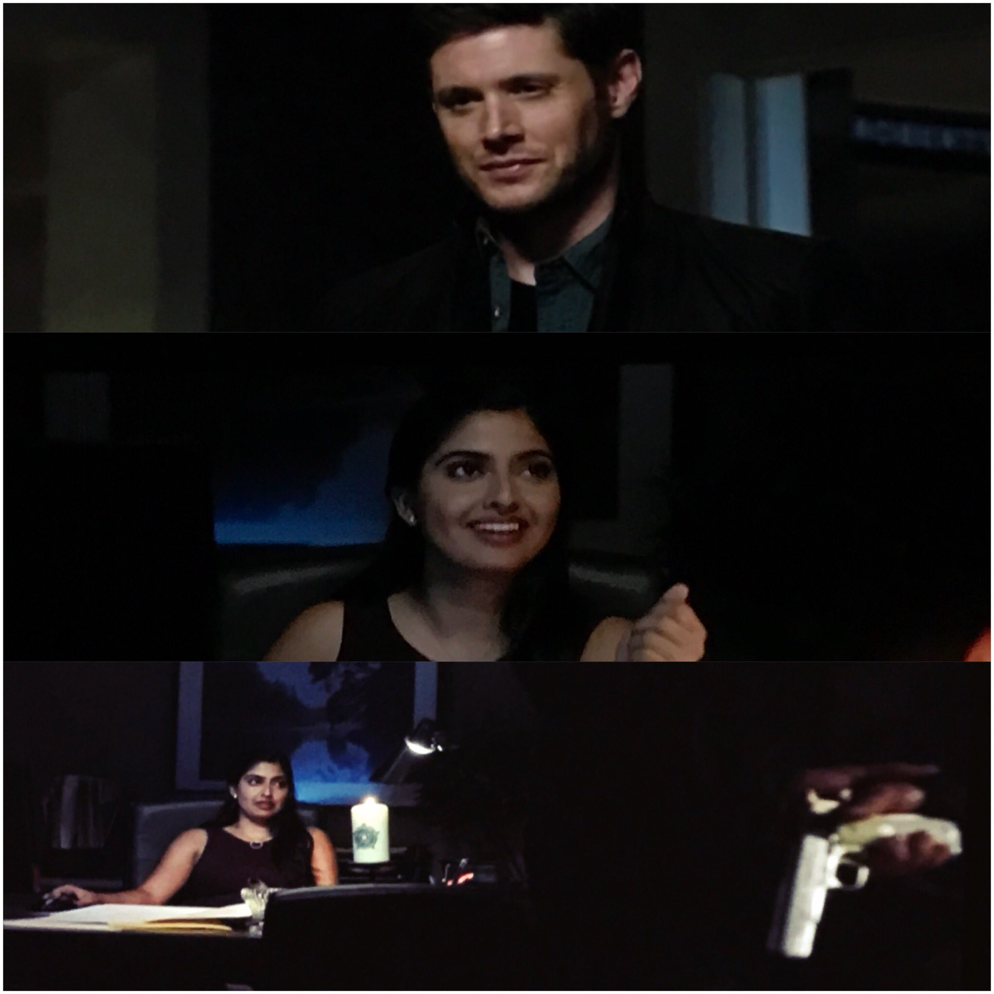 aliza vellani with jared padalecki jensen ackles movie tech geeks interview