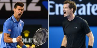 andy murray vs novak djokovic for world no 1 paris masters 2016 images