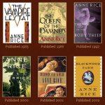 anne rice vampire chronicle books