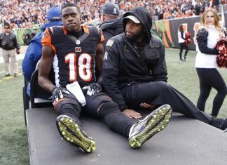 bengals aj green out with torn hamstring 2016 images