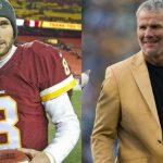Brett Favre gives Kirk Cousins big love over Packers win