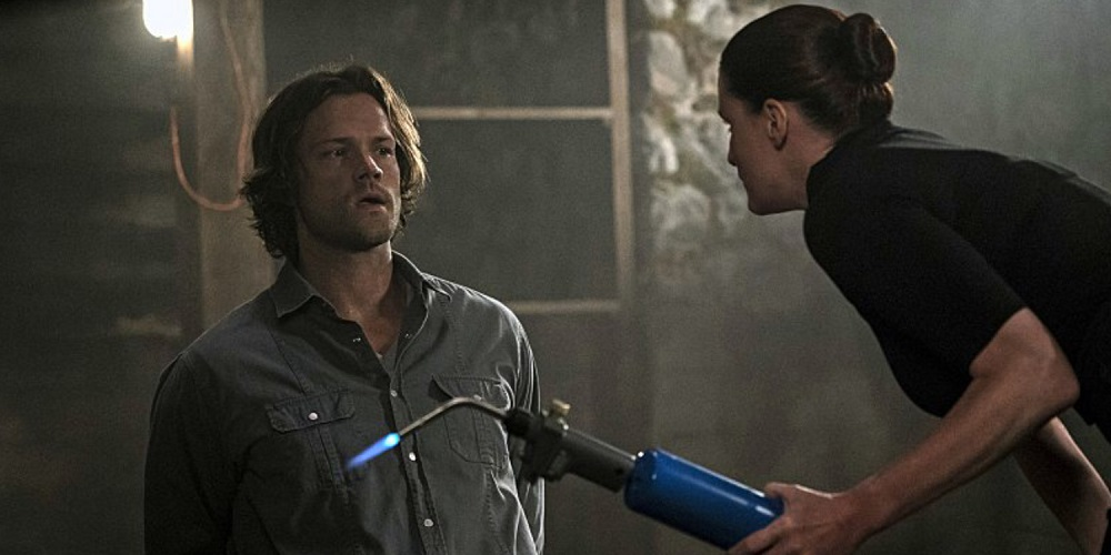 Bronaugh Waugh talks 'Supernatural' and fighting those Winchester brothers 2016 images