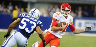 chiefs alex smith puts nfl concussion debate back on table 2016 images