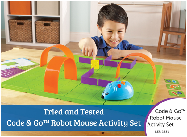 code go robot mouse activity set hot tech toys cyber monday 2016