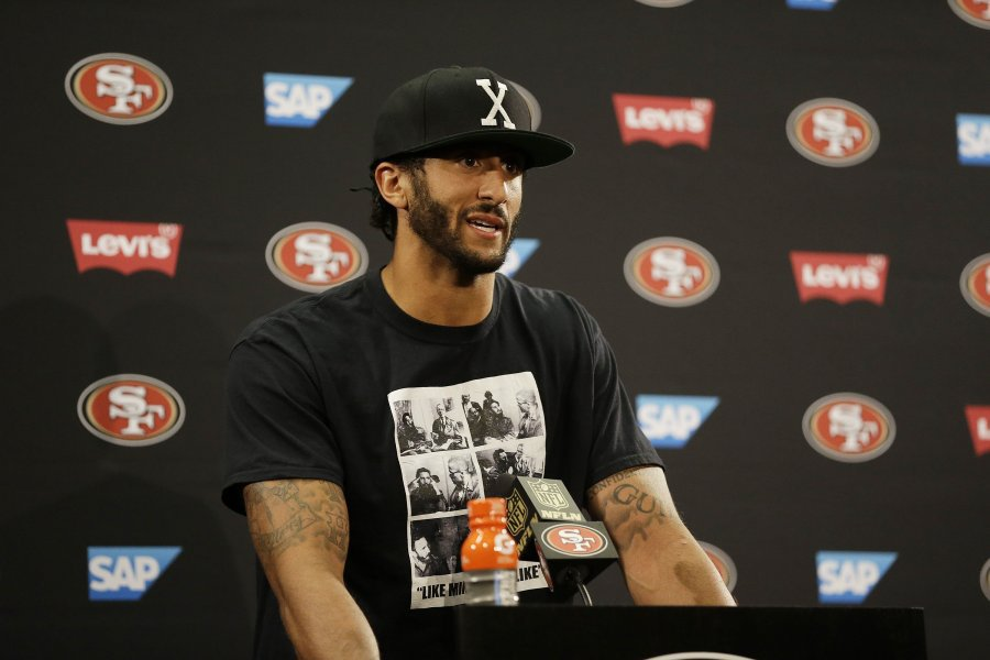 colin kaepernick might wear the x but he disregarded the meaning