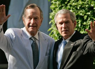 could the bushes be voting for hillary clinton 2016 images