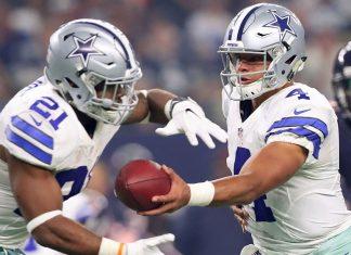 dak prescott and ezekiel elliott now the NFL hot rookie duo 2016 images