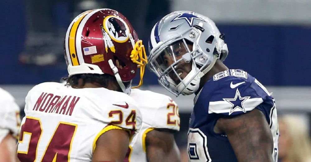 Dez Bryant vs Josh Norman intensifies after latest Cowboys victory 2016 images