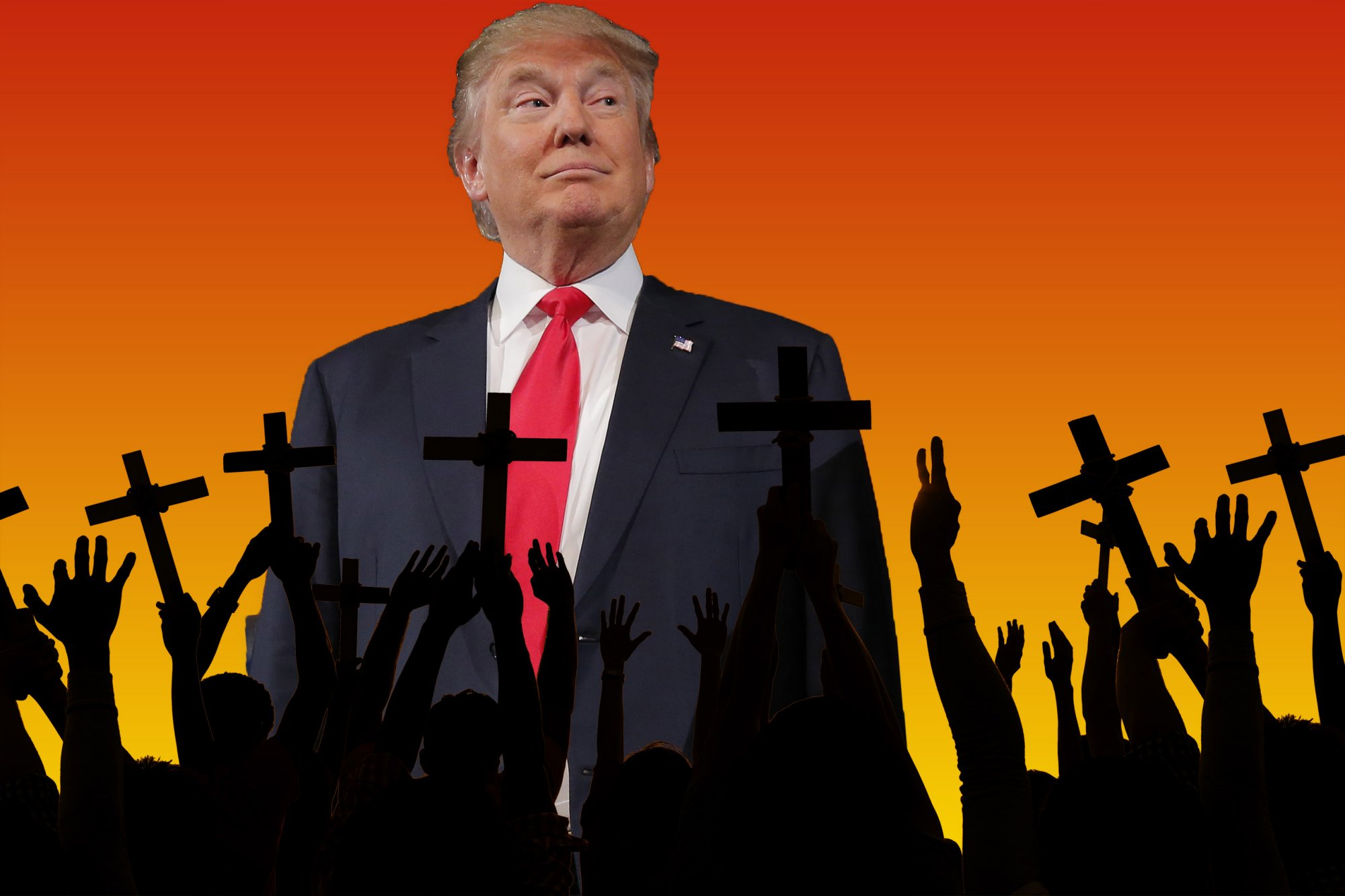 will donald trump drive evangelicals from republican party 2016 images