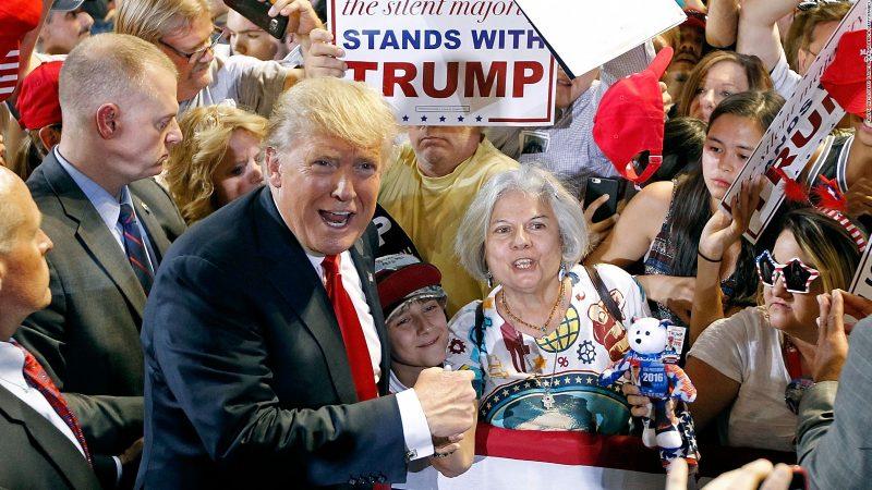 donad trump supporters zero out