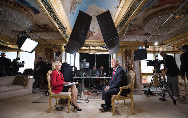 donald trump 60 minutes interview
