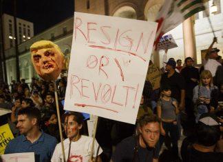 donald trump activating new generation of protestors 2016 images