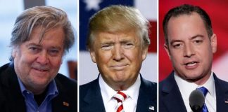 donald trump adds reince priebus and stephen bannon for top white house positions 2016 images
