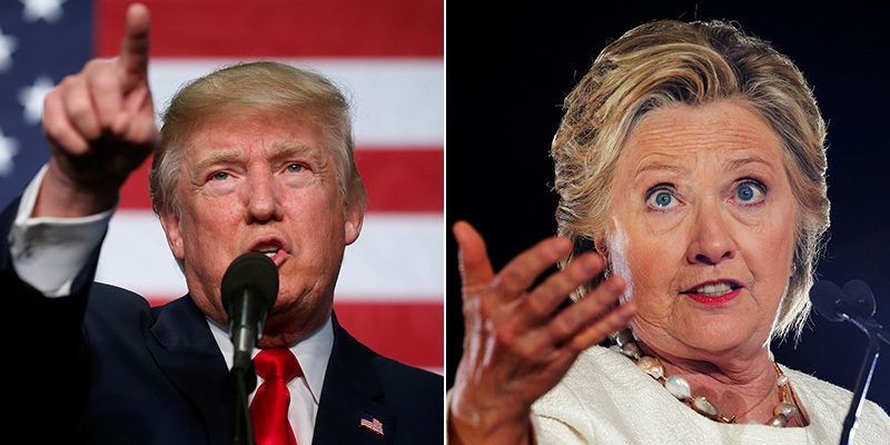 getting those facts right on donald trump and hillary clinton 2016 images