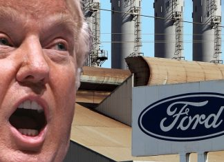 donald trump begins claim game with ford 2016 images