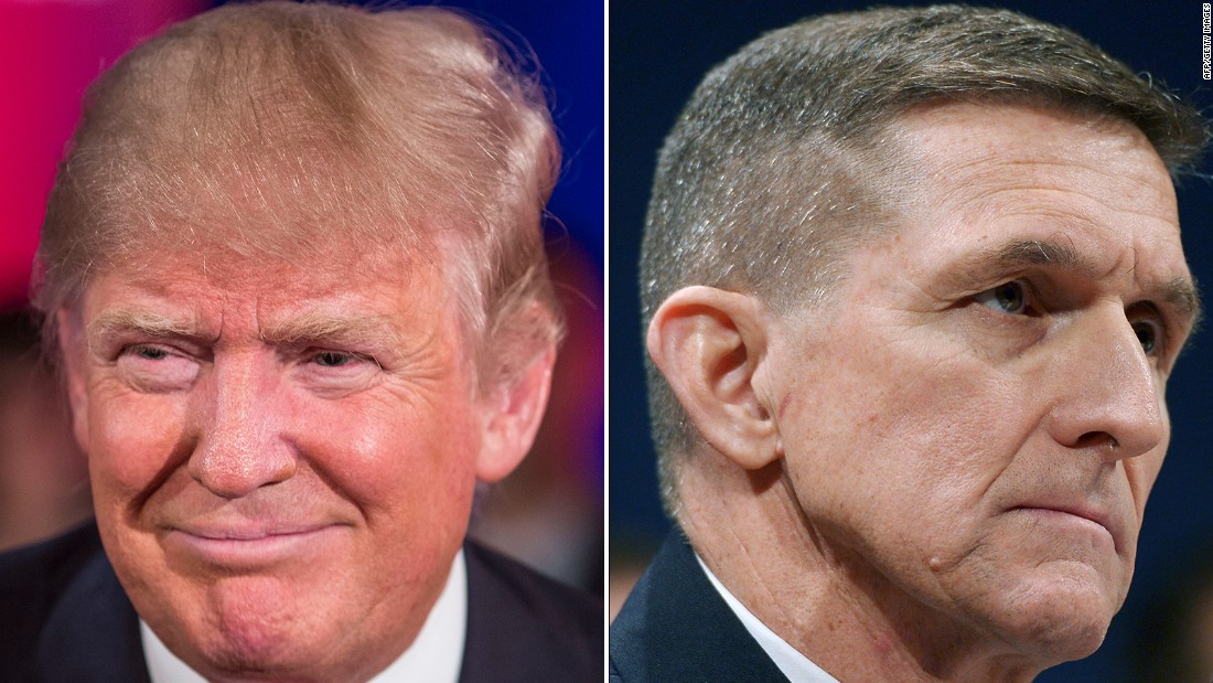 donald trump brings on michael flynn for national security advisor