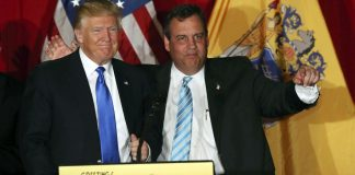 donald trump drops chris christie for mike pence for transition 2016 images