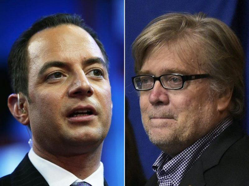 donald trump gives reince priebus and stephen bannon top 2 power slots