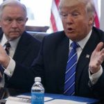 donald trump goes with jeff sessions and mike pompeo