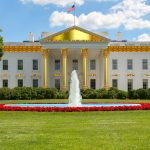 donald trump golden white house