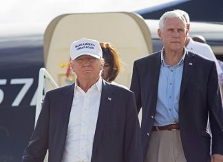 donald trump making smart use of mike pence 2016 images