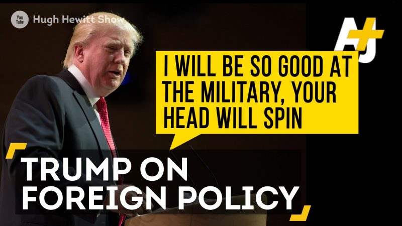donald trump on foreign policy promises