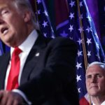 donald trump puts mike pence in place of chris christie