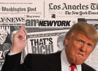 donald trump takes out his anger on the press