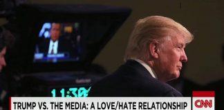 donald trump vs the media 2016 images