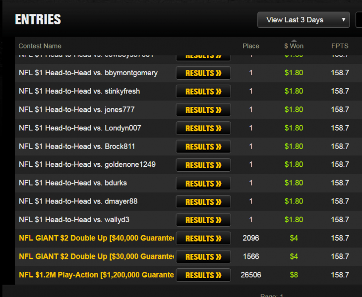 draftkings app entries images