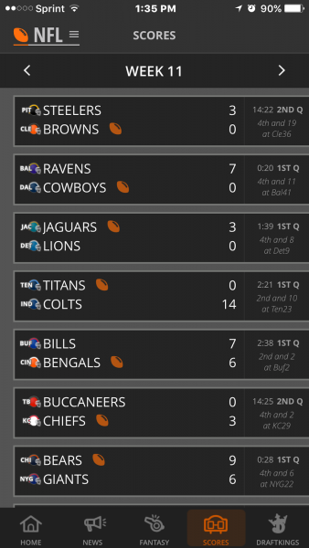 draftkings live app review images
