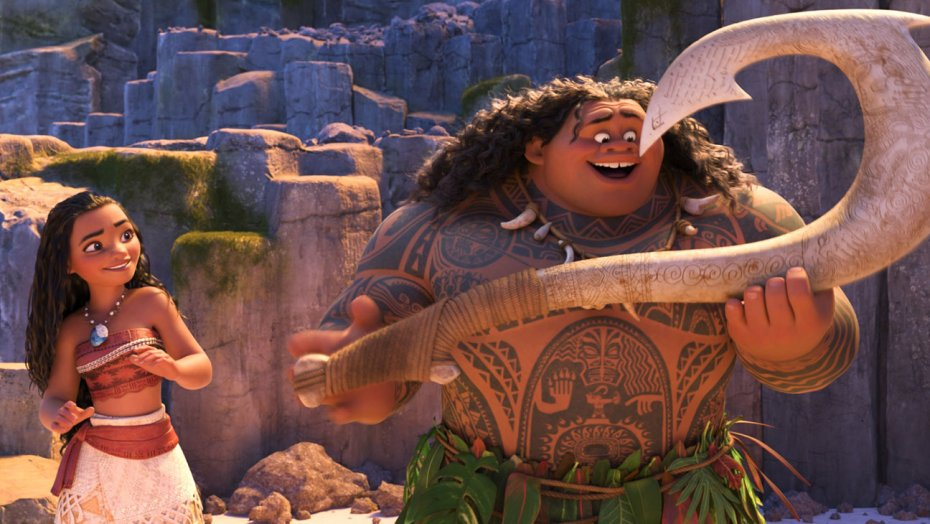 dwayne johnson moana rocks thanksgiving box office 2016