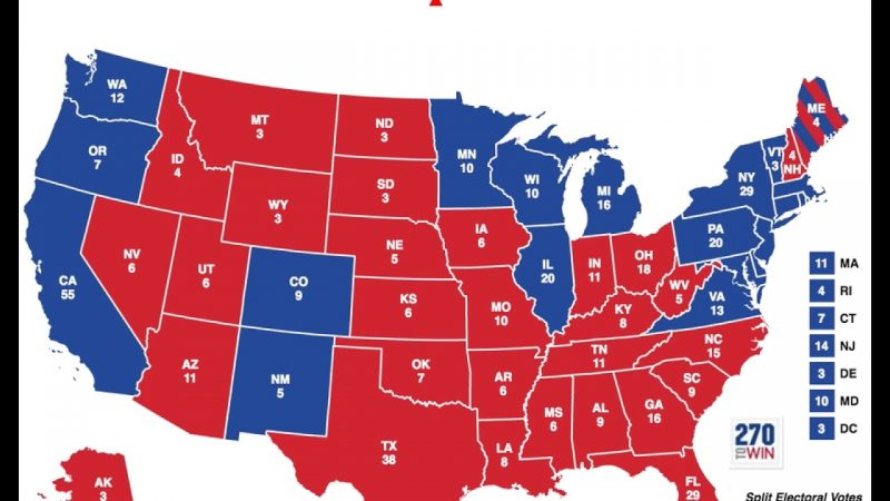 each states key race outlook